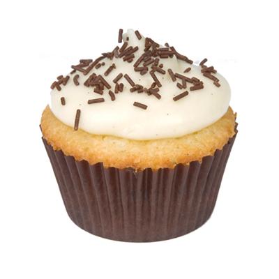Dalmatian Cupcake